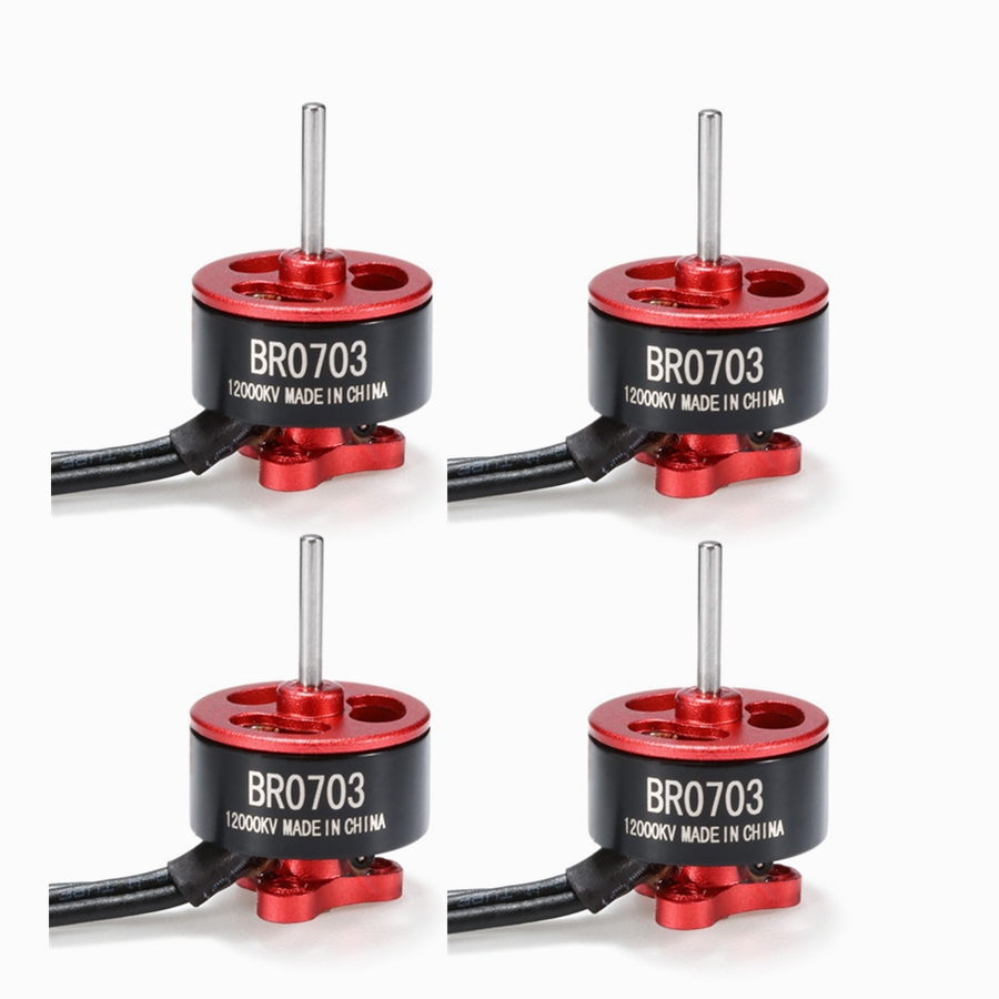 4X Racerstar Racing Edition 0703 BR0703 12000KV 1-2S Brushless Motor For 60 80 100 FPV Racer 1.9g