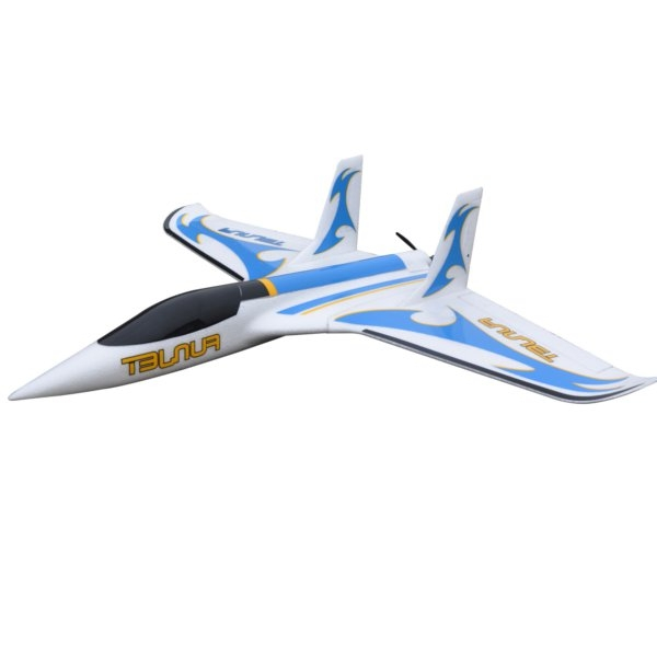 Funjet 800mm Wingspan EPO Delta-wing Jet Racer RC Airplane KIT